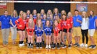 Union City Indians Girls Varsity Volleyball Fall 19-20 team photo.