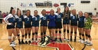 Greensboro HomeSchool Panthers Girls Varsity Volleyball Fall 19-20 team photo.