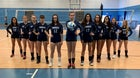 Sandwich Blue Knights Girls Varsity Volleyball Fall 19-20 team photo.