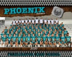 Farmington Phoenix Boys Varsity Football Fall 20-21 team photo.