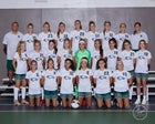 Zionsville Eagles Girls Varsity Soccer Fall 19-20 team photo.