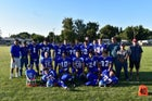 Tulelake Honkers Boys Varsity Football Fall 18-19 team photo.